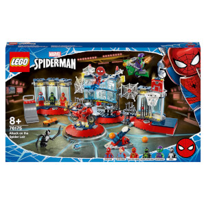 LEGO Marvel Spider-Man Attack on the Spider Lair Set (76175)