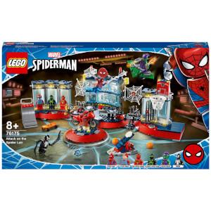 LEGO Marvel Spider-Man Attack on the Spider Lair Set (76175)