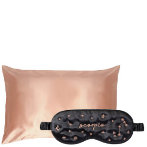 Slip Exclusive Zodiac Sleep Mask and Rose Gold Pillowcase (Various Options)