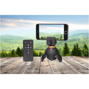 Electronic Panoramic Phone Stand from I Want One Of Those