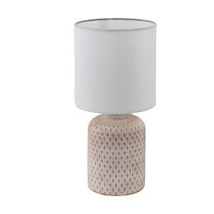Eglo Bellariva Table Lamp Cream White