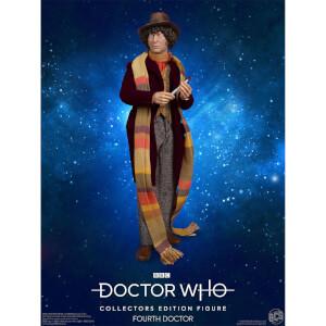 Figurine Doctor Who 4ème Docteur - Edition Collector - Echelle 1:6 Scale - Exclusivité Zavvi