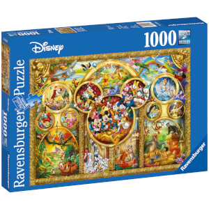 The Best Disney Themes Jigsaw Puzzle (1000 Pieces)
