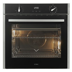 CDA SL300SS Built-in Single Electric Oven - 12 Function - Stainless Steel
