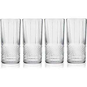 Maxwell & Williams Verona Set of Four 315ml High Ball Glasses