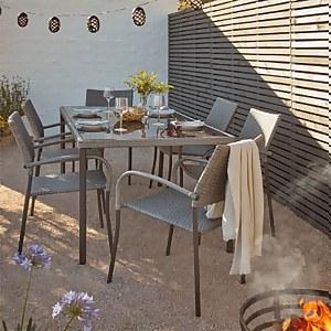 Bambrick 6 Seater Garden Dining Set