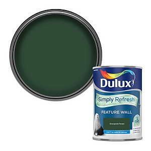 Dulux Simply Refresh Feature Wall One Coat Matt Emulsion Paint - Everglade Forest - 1.25L