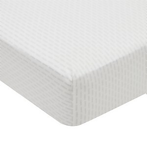 Silva Fitted Sheet Single Bed Cloud Grey