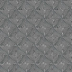 Grandeco Boutique Clarence Verdun Grey/Silver Wallpaper