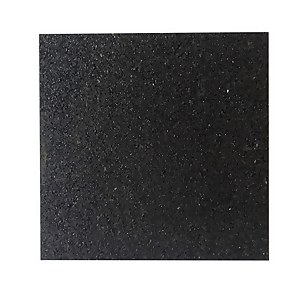Rubber Tile Black 300mm