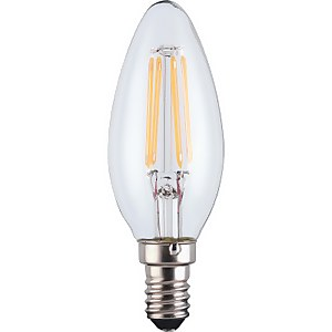TCP Lightbulbs Filament Candle 60W Ses Warm