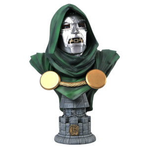 Diamond Select Marvel Legends In 3D Dr. Doom 1/2 Scale Bust
