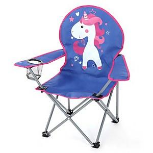Homebase Kids Animal Camping Chair - Unicorn