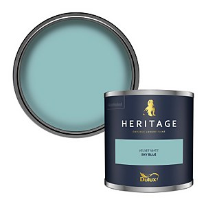 Dulux Heritage Colour Tester - Sky Blue - 125ml