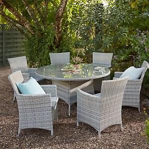 Florence 6 Seater Garden Dining Set