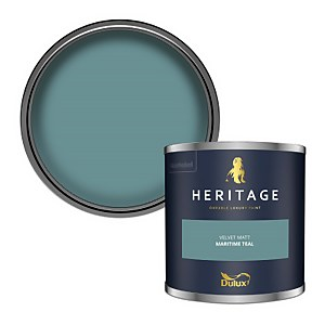 Dulux Heritage Colour Tester - Maritime Teal - 125ml