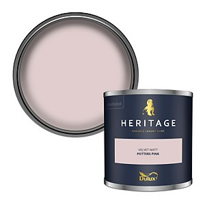 Dulux Heritage Colour Tester - Potters Pink - 125ml