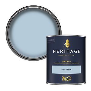 Dulux Heritage Eggshell Paint - Blue Ribbon - 750ml