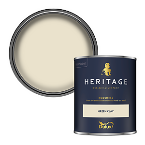 Dulux Heritage Eggshell Paint - Green Clay - 750ml
