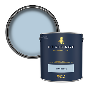 Dulux Heritage Matt Emulsion Paint - Blue Ribbon - 2.5L