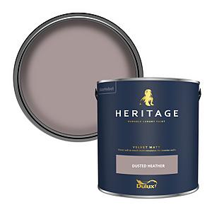 Dulux Heritage Matt Emulsion Paint - Dusted Heather - 2.5L