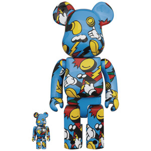 Medicom Grafflex Arts 100% X 400% Be@rbrick 2-pack