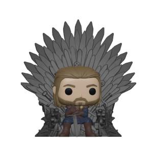 Game of Thrones Ned Stark auf Thron Funko Pop! Deluxe