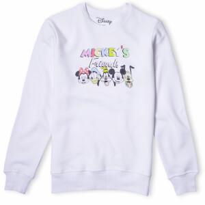 Disney Mickey's Friends Sweatshirt - White