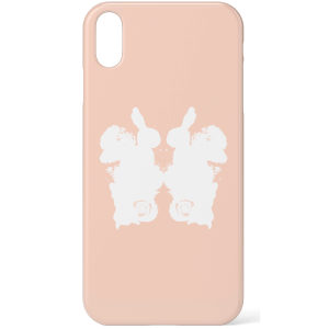 Rorschach Inkblot Pink Phone Case for iPhone and Android