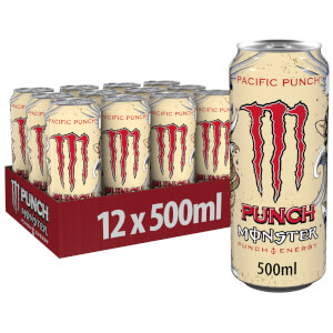 Monster Pacific Punch 12 x 500ml