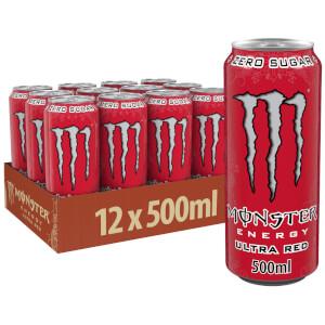 Monster Ultra Red  12 x 500ml