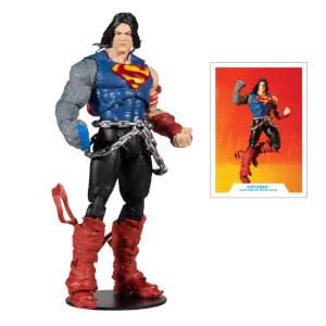McFarlane Toys DC Build-A-Figure Wv4 - Death Metal - Superman Action Figure