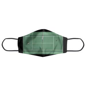 Green Court Face Mask