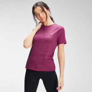MP Women's Performance Training T-Shirt - Deep Pink Marl with Black Fleck