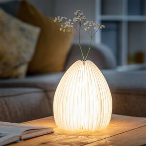 Gingko Smart Vase Light - Bamboo
