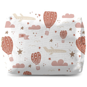 Earth Toned Kids Pattern Wash Bag