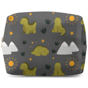 Green Dino  Wash Bag