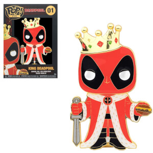 Marvel King Deadpool Funko Pop! Pin
