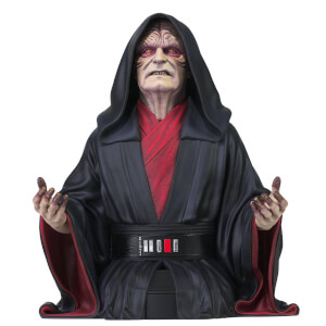 Gentle Giant Star Wars The Rise Of Skywalker Emperor Palpatine 1/6 Scale Bust