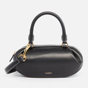 Yuzefi Women's Brioche Small Tote Bag - Black