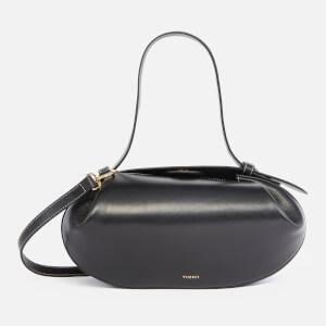 Yuzefi Women's Loaf Leather Shoulder Bag - Black