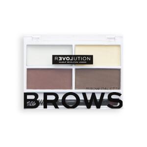 Relove Colour Cult Brow Palette Dark