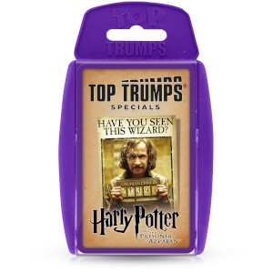 Top Trumps Card Game - Harry Potter and the Prisoner of Azkaban 2021 Edition from I Want One Of Those