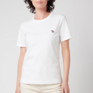 PS Paul Smith Women's Zebra T-Shirt - White