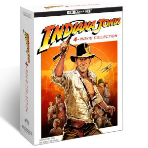 Indiana Jones: 4-Movie Collection 4K Ultra HD + Blu-ray