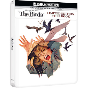 The Birds - Zavvi Exclusive 4K Ultra HD Limited Edition Steelbook (Includes Blu-Ray)