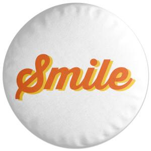 Smile Round Cushion