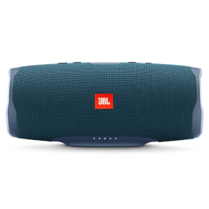 JBL Charge 4 Portable Bluetooth Speaker with a Built-In Power Bank - Blue from I Want One Of Those