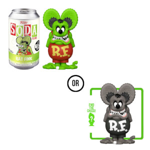 Rat Fink Vinyl Soda Figure in Collector Can