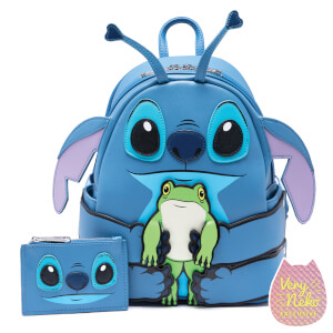 Loungefly Disney Stitch Hug Frog Mini Backpack and Cardholder Set - VeryNeko Exclusive